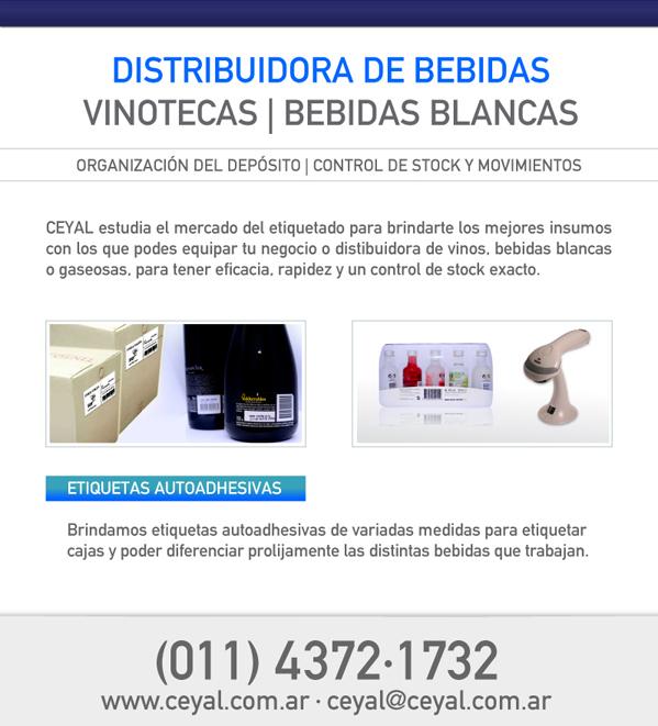 Distribuidora de bebidas VINOTECA, Bebidas Blancas.