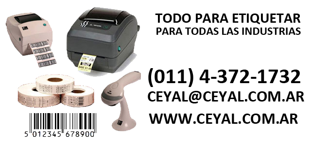 ETIQUETAS PARA COSMÉTICOS, CEYAL, ARGENTINA