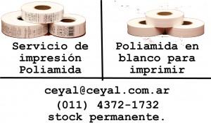 Rollos de poliamida blanca
