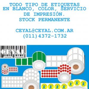 ETIQUETAS IMPRESAS 64x32