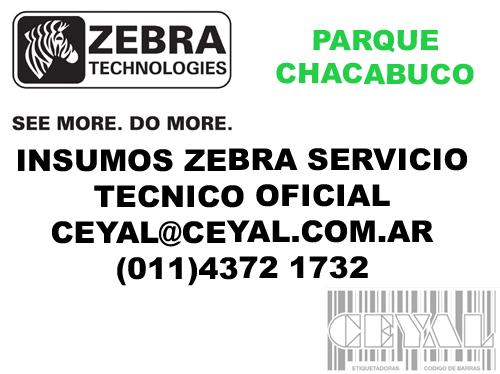Caja de 50 rollos de etiquetas adhesivas 100x80 PARQUE CHACABUCO