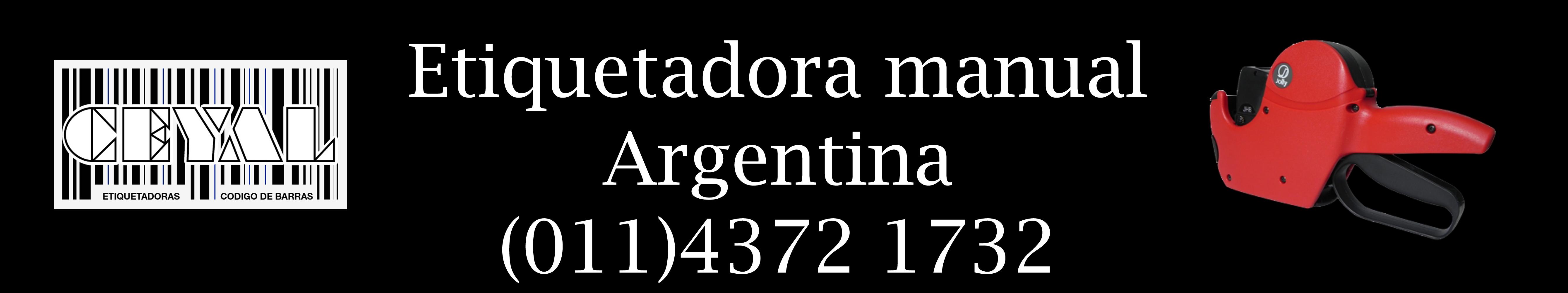 etiquetadora manual argentina