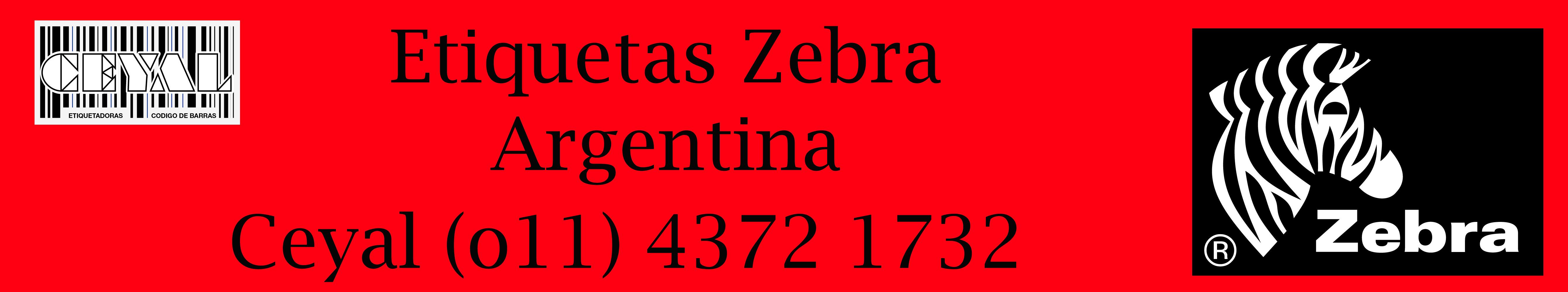 etiquetas zebra argentina