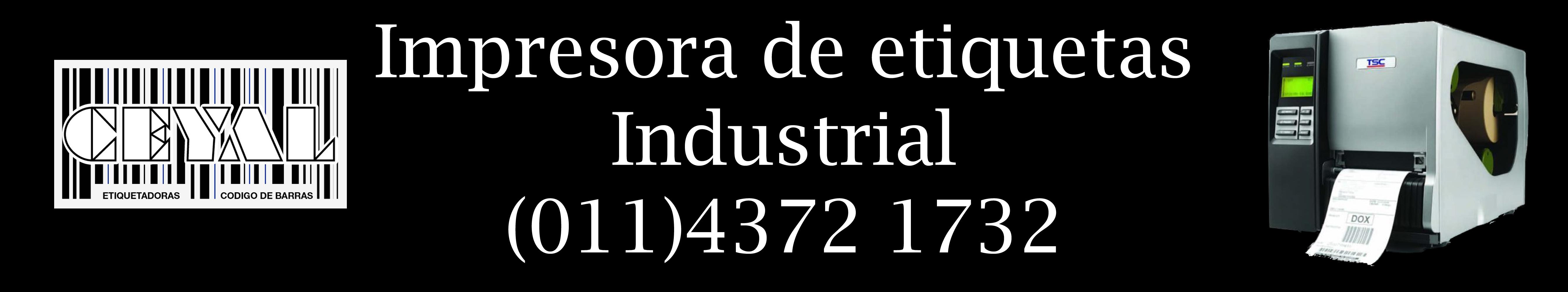 impresora de etiquetas industrial
