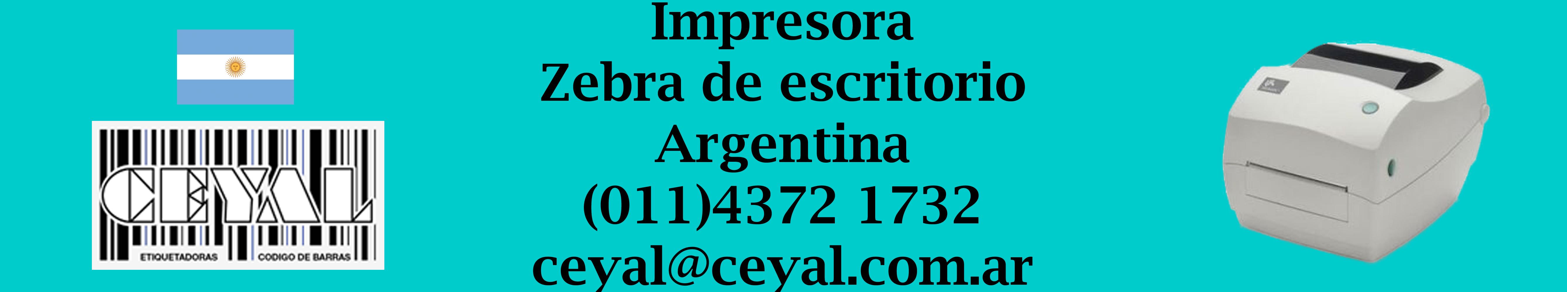 impresora zebra de escritorio argentina