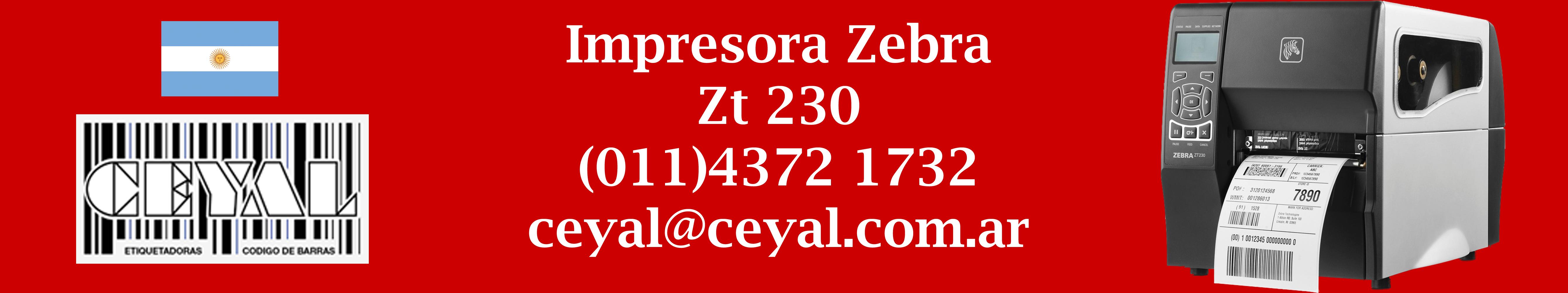 impresora zebra zt 230