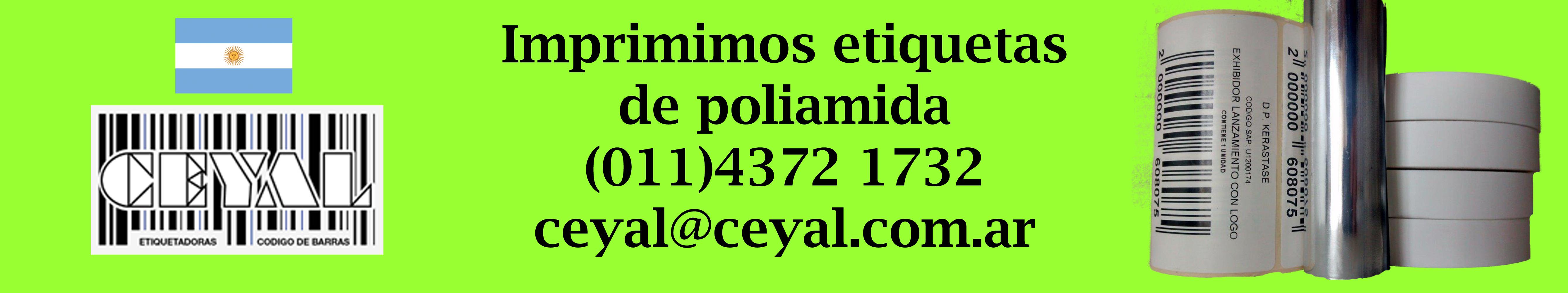 imprimimos etiquetas de poliamida