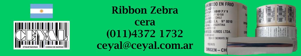 ribbon zebra cera