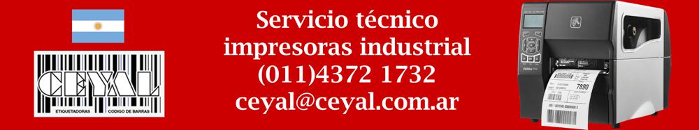 servicio tecnico impresora industrial