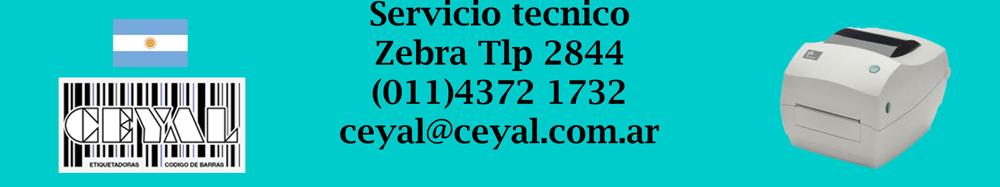servicio tecnico zebra tlp 2844
