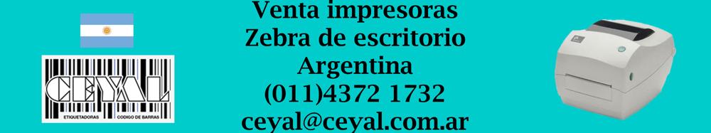 venta de impresoras zebra de escritorio argentina