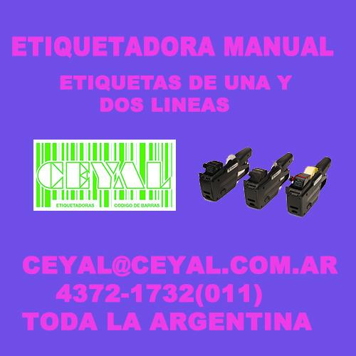 BUSCO ETIQUETAS DE DOS LINEAS CEYAL ARGENTINA