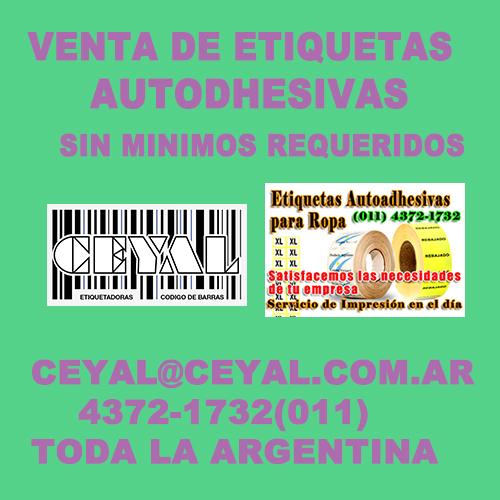 BUSCO ETIQUETAS YA IMPRESAS CEYAL ARGENTINA