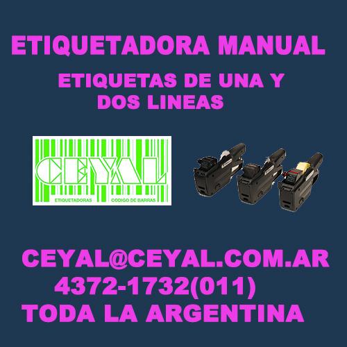 BUSCO ROLLOS DE ETIQUETAS PARA DOS LINEAS CEYAL ARGENTINA