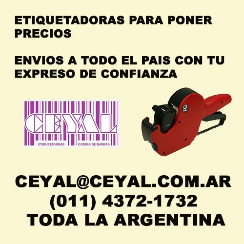 BUSCO ROLLOS DE ETIQUETAS PARA MOTEX CEYAL ARGENTINA (011) 4372-1732