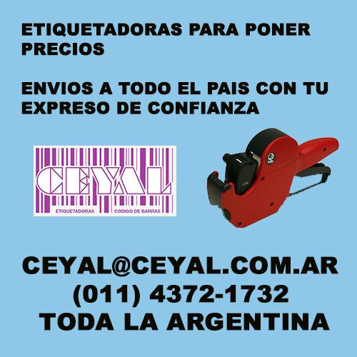 BUSCO SERVICIO DE IMPRESION  DE ETIQUETAS EN EL DIA CEYAL ARGENTINA (011) 4372-1732