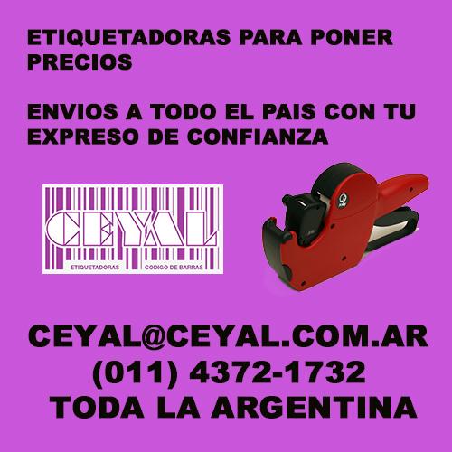 CAJA DE ROLLOS DE ETIQUETADORAS OPEN C20 CEYAL ARGENTINA (011) 4372-1732