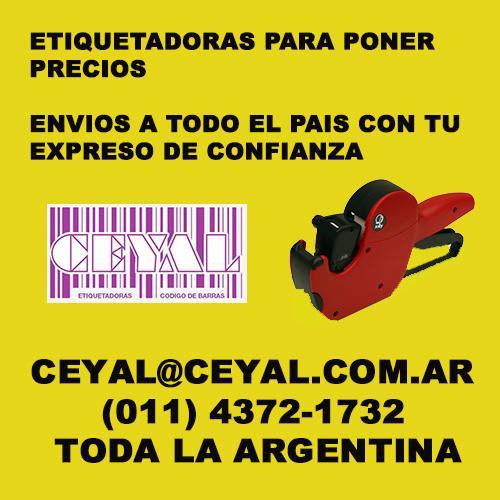 CAJA DE ROLLOS PARA ETIQUETADORAS JOLLY 2 LINES CEYAL ARGENTINA