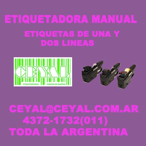 COMPRAR ETIQUETADORAS MANUALES CEYAL ARGENTINA
