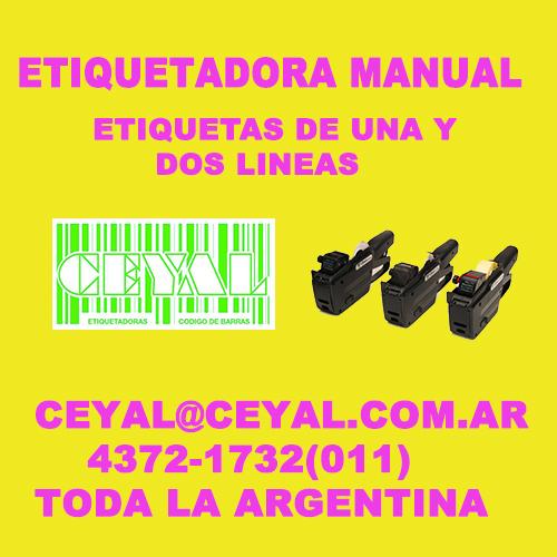 ETIQUETADORAS PARA TEXTILES CEYAL ARGENTINA