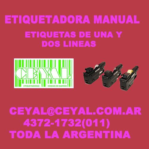 ETIQUETAS DE DOS LINEAS CEYAL ARGENTINA
