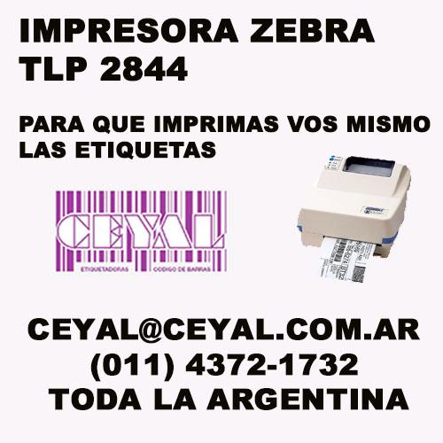 IMPRESORAS ZEBRA PARA GRANDES CANTIDADES CEYAL ARGENTINA