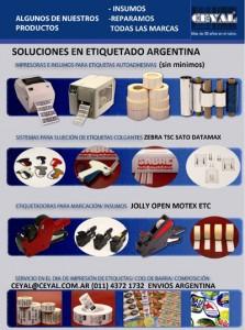 Productos Para el etiquetado Argentina