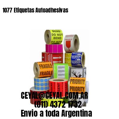 1077 Etiquetas Autoadhesivas