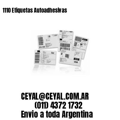 1110 Etiquetas Autoadhesivas