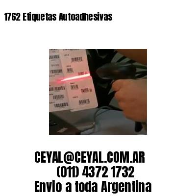 1762 Etiquetas Autoadhesivas