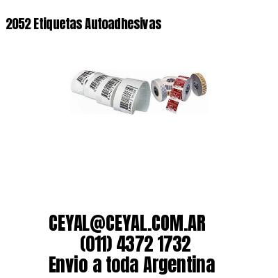2052 Etiquetas Autoadhesivas
