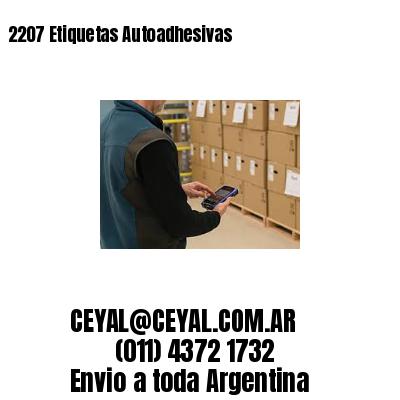 2207 Etiquetas Autoadhesivas