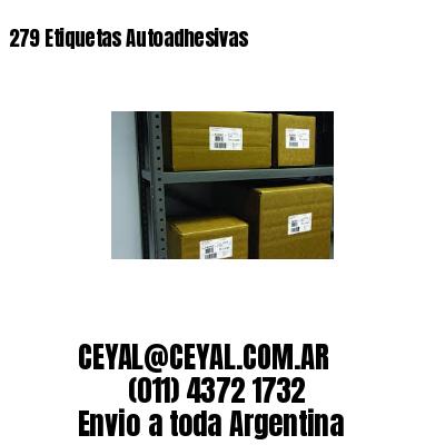 279 Etiquetas Autoadhesivas
