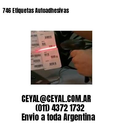 746 Etiquetas Autoadhesivas