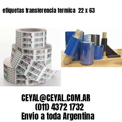etiquetas transferencia termica  22 x 63
