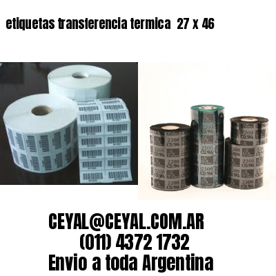 etiquetas transferencia termica  27 x 46
