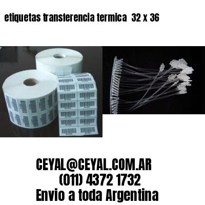 etiquetas transferencia termica  32 x 36