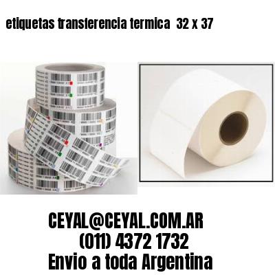 etiquetas transferencia termica  32 x 37