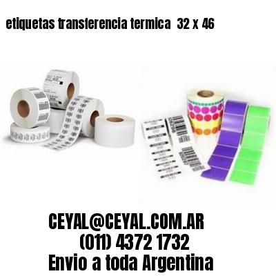 etiquetas transferencia termica  32 x 46