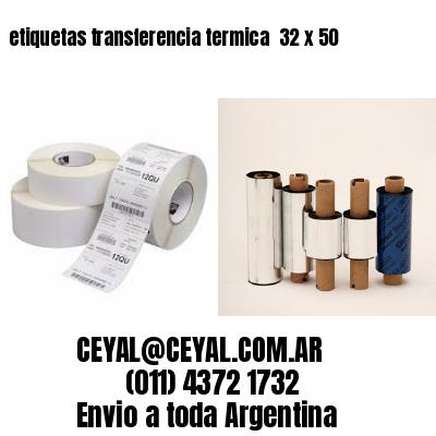 etiquetas transferencia termica  32 x 50