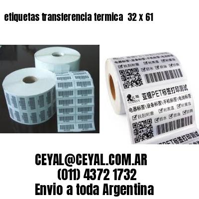 etiquetas transferencia termica  32 x 61
