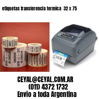 etiquetas transferencia termica  32 x 75