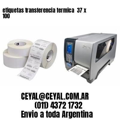 etiquetas transferencia termica  37 x 100
