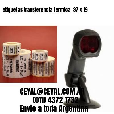 etiquetas transferencia termica  37 x 19