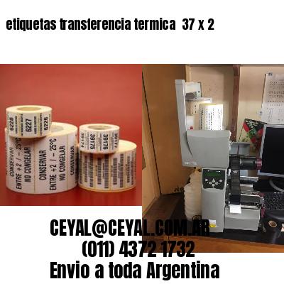 etiquetas transferencia termica  37 x 2