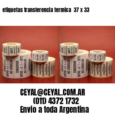 etiquetas transferencia termica  37 x 33