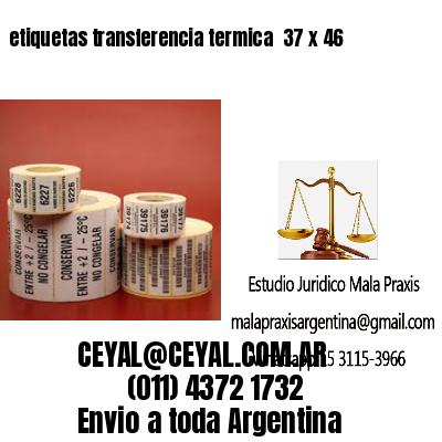 etiquetas transferencia termica  37 x 46