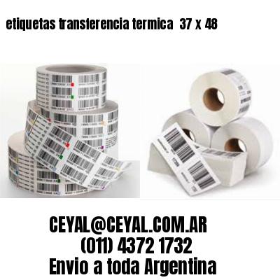 etiquetas transferencia termica  37 x 48