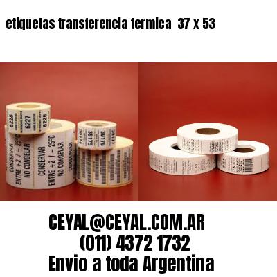 etiquetas transferencia termica  37 x 53