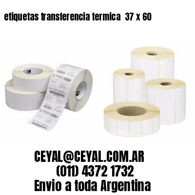 etiquetas transferencia termica  37 x 60